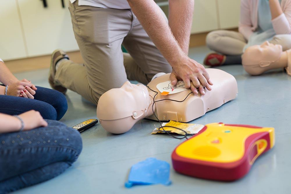 CPR & Defibrillator Training